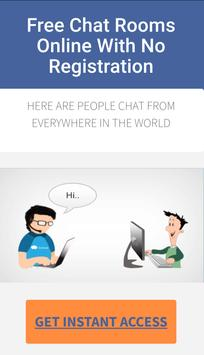 Free Chat Rooms poster