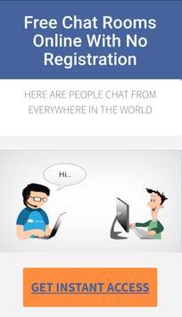 Free Chat Rooms screenshot 1