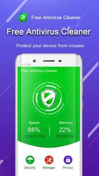 Free Antivirus Cleaner - Booster & Antivirus poster