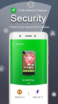 Free Antivirus Cleaner - Booster & Antivirus apk screenshot