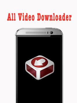 All HD Video Downloader free apk screenshot