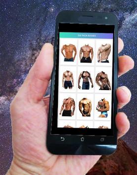 Boys Photo Edior Pro Six Pack apk screenshot