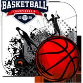 dunk hit basketball icon