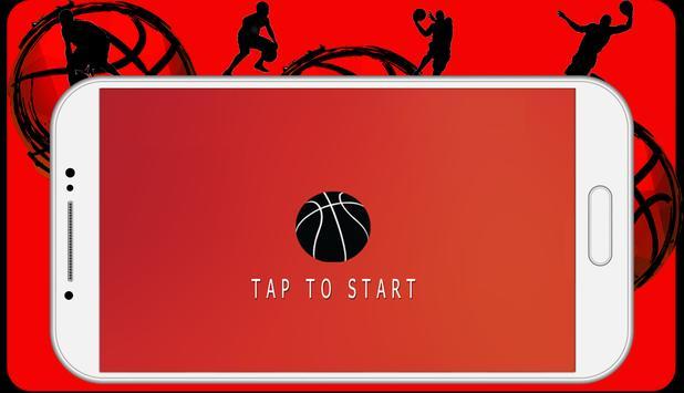 dunk hit basketball apk screenshot