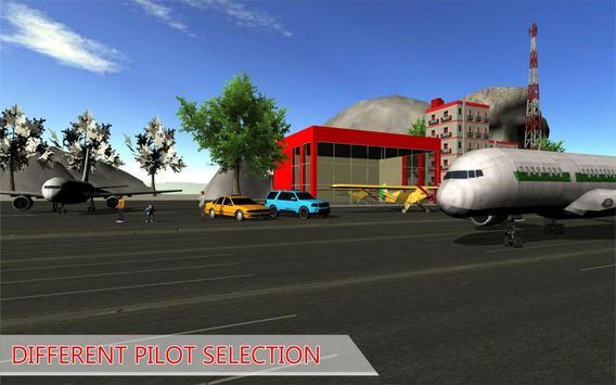 Flight Master Plane Simulation :Fly Airplane Games apk screenshot