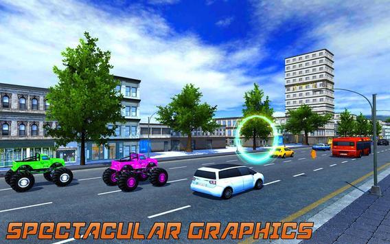 Traffic Racer Monster Truck : Power Truck 2018 poster