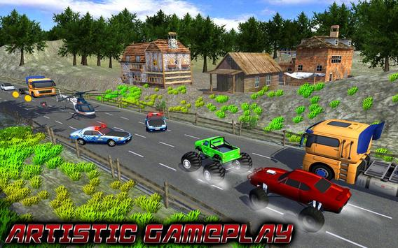 Traffic Racer Monster Truck screenshot 2