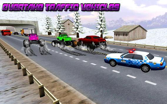 Traffic Racer Monster Truck : Power Truck 2018 apk screenshot