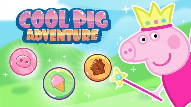 Cool adventure of pig: Slasher poster