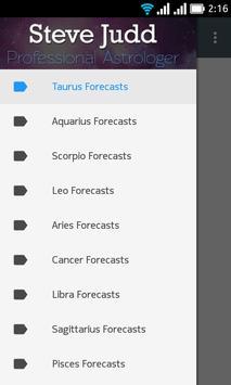 free daily horoscope SteveJuddAstrology poster