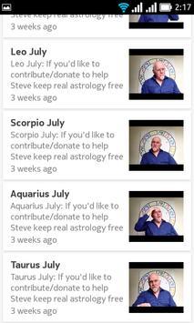free daily horoscope SteveJuddAstrology screenshot 13