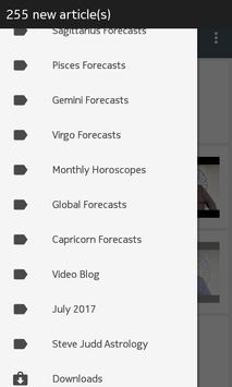 free daily horoscope SteveJuddAstrology screenshot 1