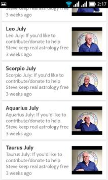 free daily horoscope SteveJuddAstrology screenshot 4