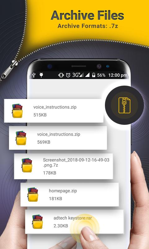 Rar unrar Files Zip unzip Tool & Archiver for Android - APK