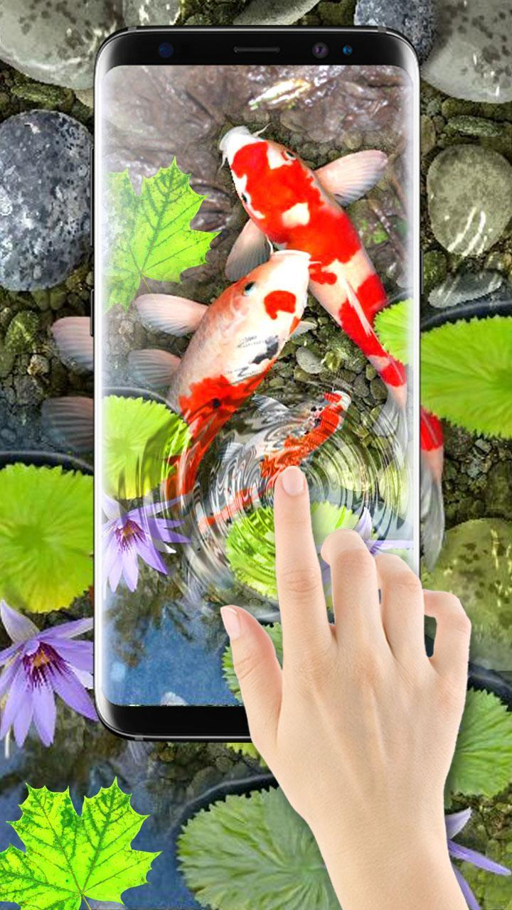 3d Koi Fish Wallpaper Hd 3d Fish Live Wallpapers For Android Apk Download