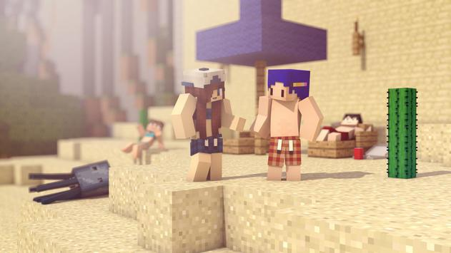 Hot Skins for Minecraft PE poster