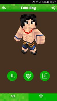 Hot Skins for Minecraft PE screenshot 2