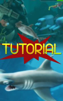 Free Hungry Shark Tutorial poster