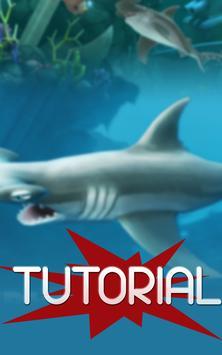 Free Hungry Shark Tutorial apk screenshot