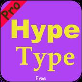 Pro Hype-type Free 2018 ícone