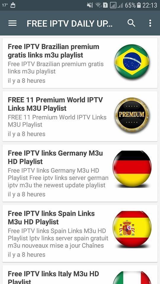 Premium Daily Free iptv M3u Playlist 02122018 IPTV VLC in