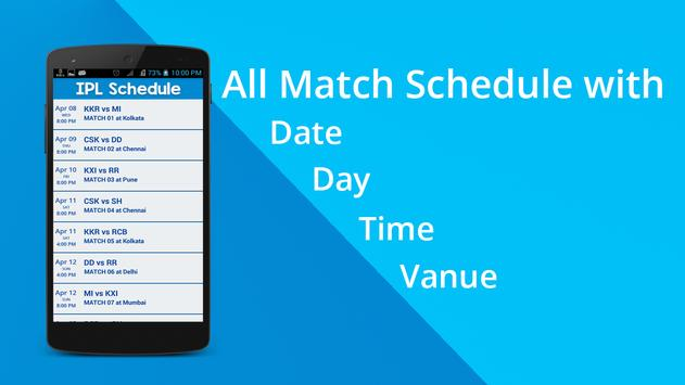 Live Updates for IPL 2015 screenshot 2