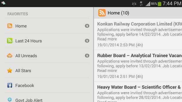 Free Job Alert screenshot 7