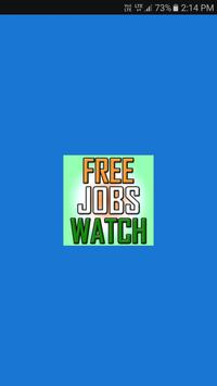 Free Jobs Watch poster