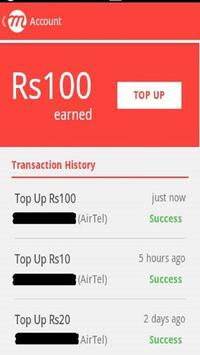 mCent-Free Mobile Recharge(free) screenshot 1