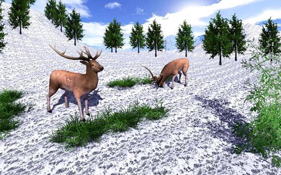 Safari wild Deer Hunting poster