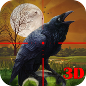 Wild Forest Crow Hunting 2017 icon