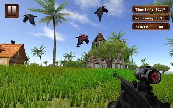 Wild Forest Crow Hunting 2017 apk screenshot
