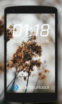 Pin Code lock screen themes poster