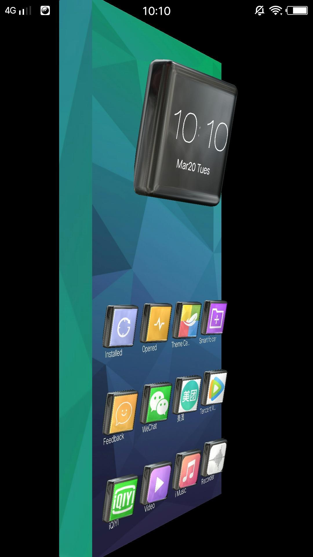 Launcher 3d Live Wallpaper Free Themes Speed For Android Apk