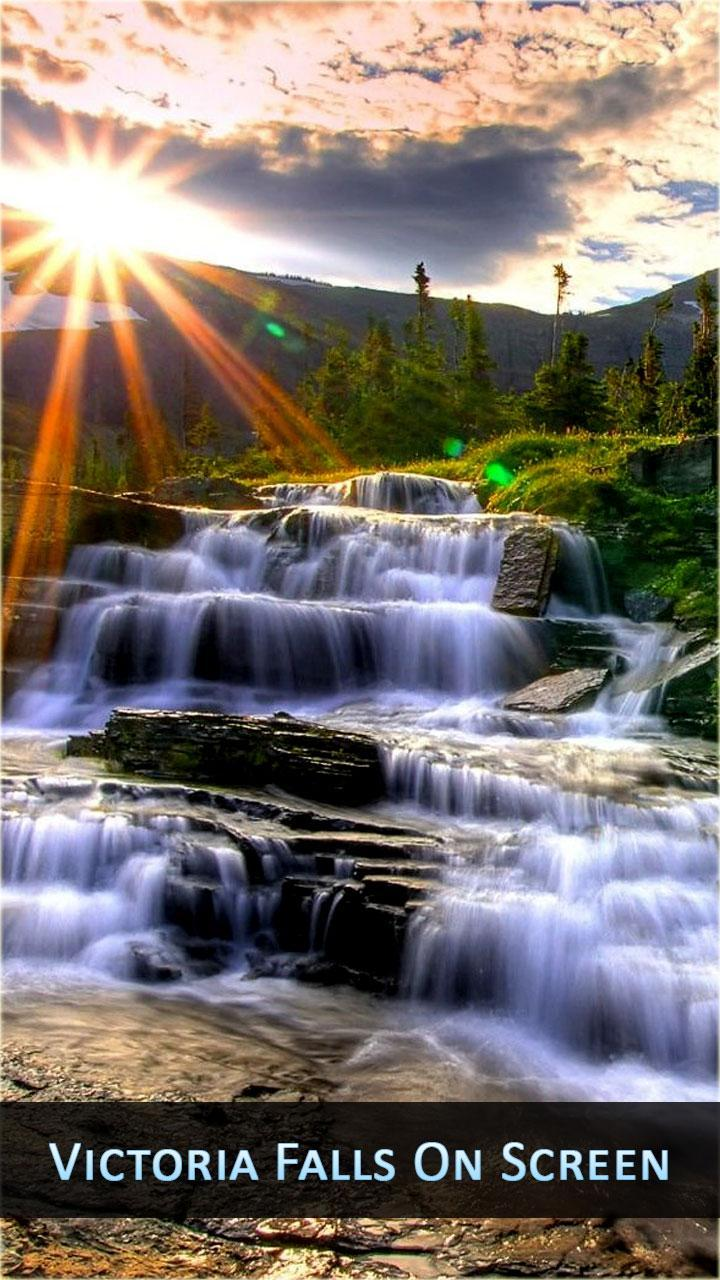 Free Live Waterfall Wallpaper HD Phone Backgrounds for Android