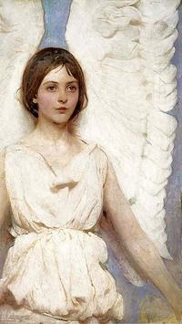 free live angel wallpaper poster