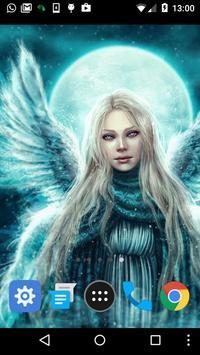 free live angel wallpaper apk screenshot
