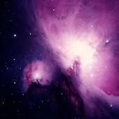 free moving galaxy wallpaper icon