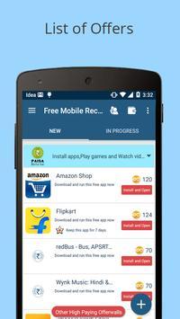 Free Mobile Recharge apk screenshot