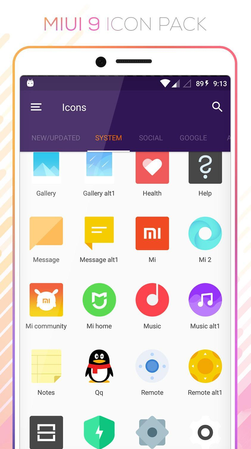 MIUI 9 for Android - APK Download