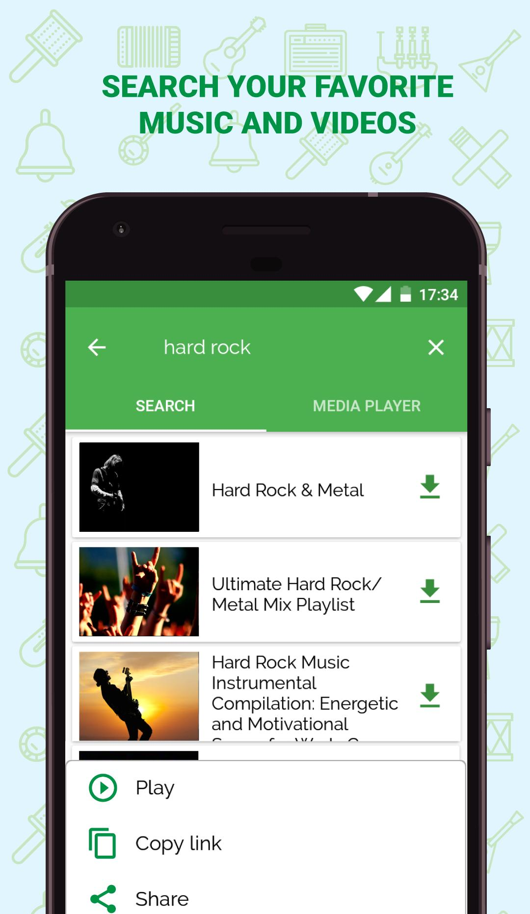VideoMp3 - find free music mp3 for Android - APK Download