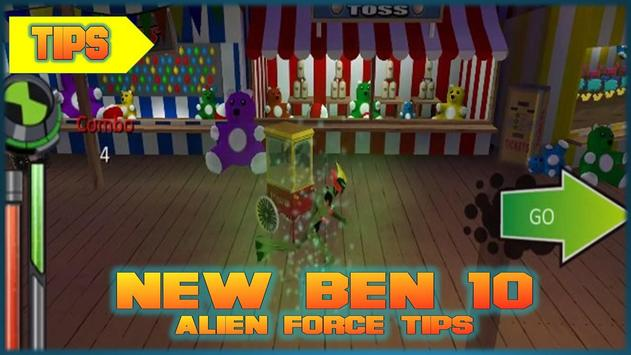New Ben 10 Alien Force Tips poster