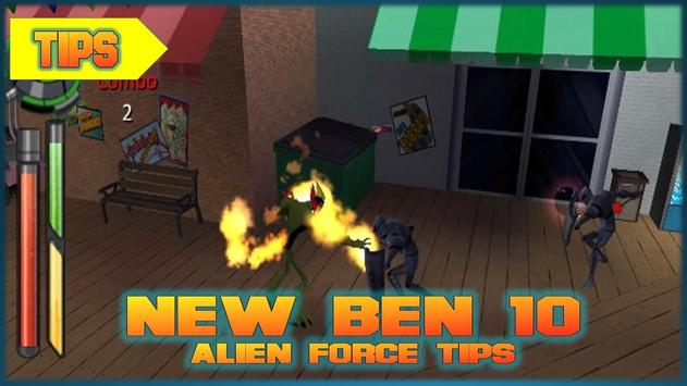 New Ben 10 Alien Force Tips apk screenshot