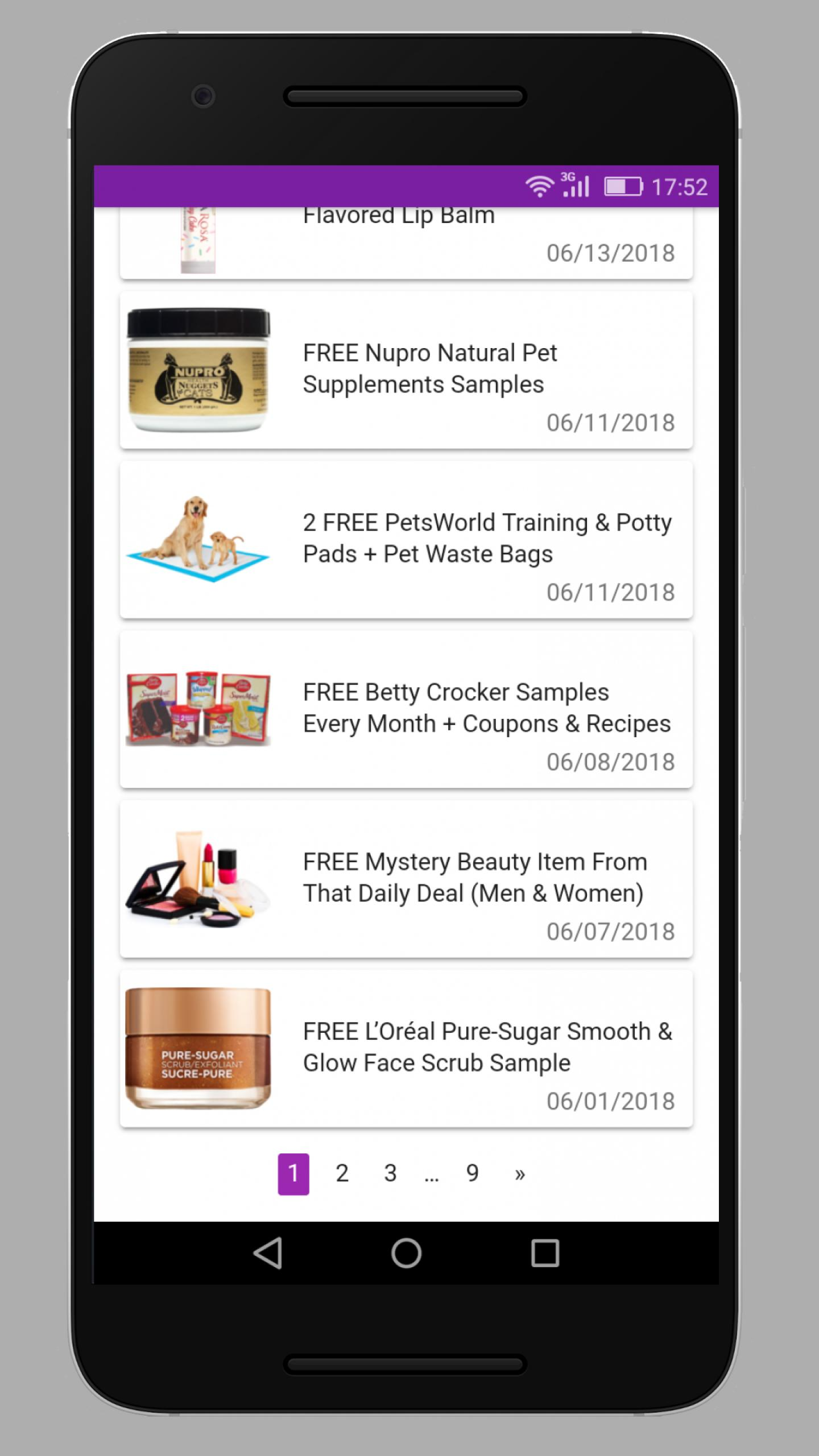 🎁 FREE Stuff, FREE Samples, Freebies by Mail 📫 for Android