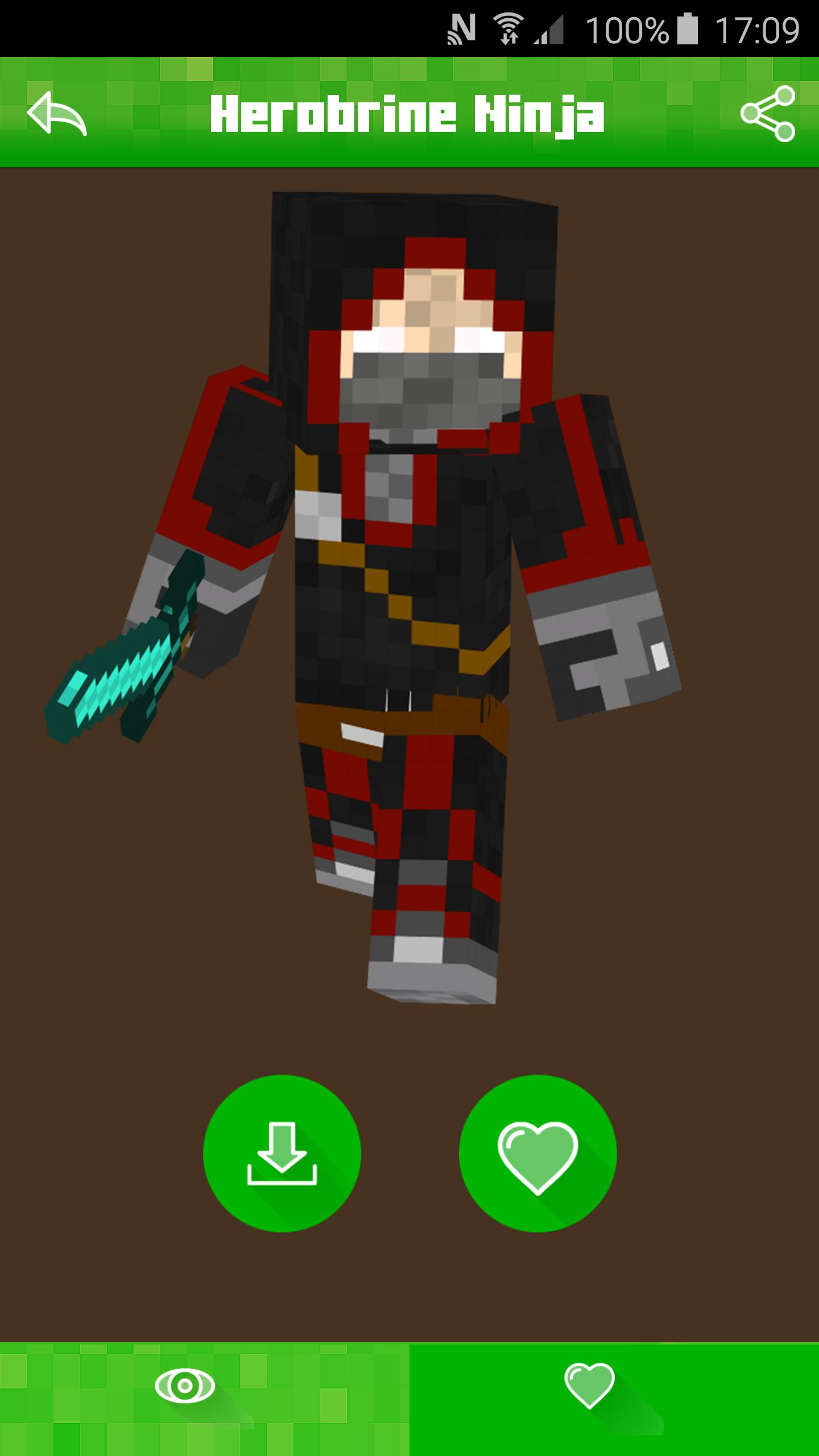 Download Cool Blue Youtuber Minecraft Skin for Free