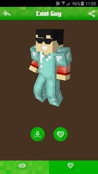 Boy Skins for Minecraft PE &PC apk screenshot