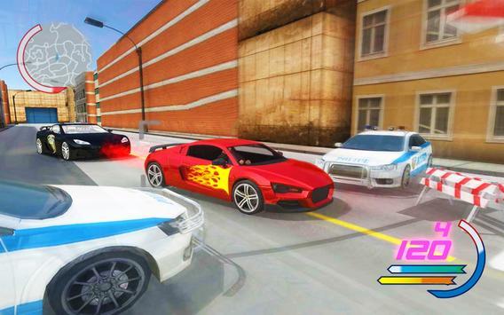 Police Car 3D : Crime Chase Cop Driving Simulator screenshot 1
