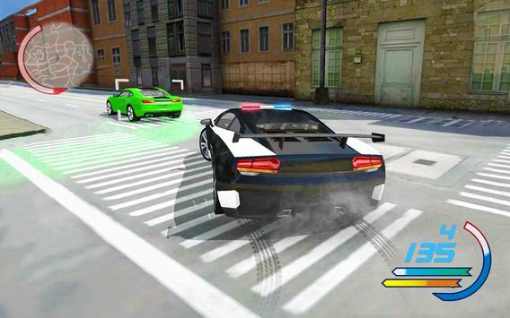 Police Car 3D : Crime Chase Cop Driving Simulator screenshot 2