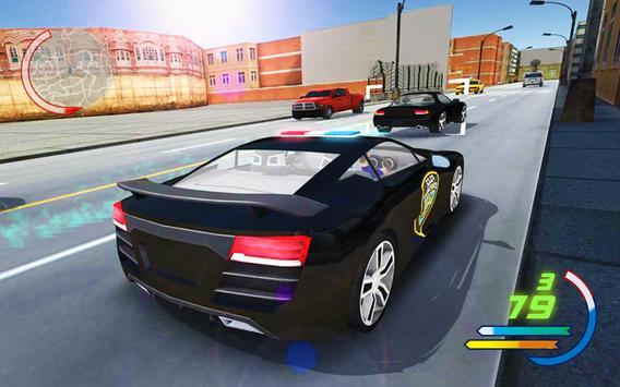 Police Car 3D : Crime Chase Cop Driving Simulator screenshot 8
