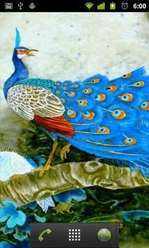 free peacock wallpaper apk screenshot